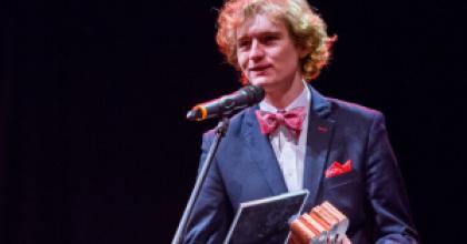 Laureat Nagrody Miasta Gdańska dla Młodych Twórców w Dziedzinie Kultury