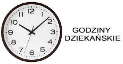 godziny dziekańskie