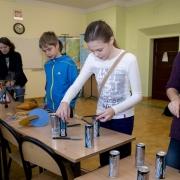 wykłady z demonstracjami w szkole w Lęborku, 2013