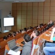 Prezentacje miały miejsce w Audytorium nr 1, każdy z uczestników finału miał 15 minut na swoją prelekcję
